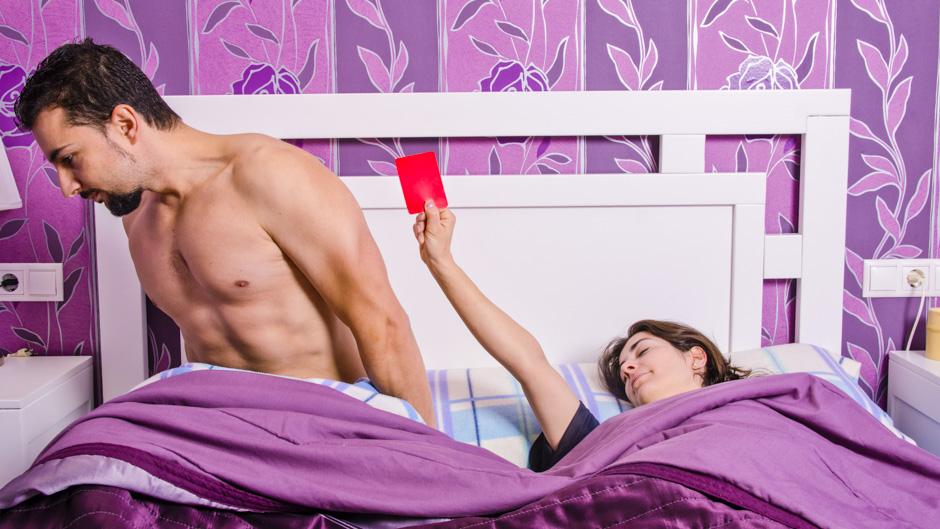 Durchhalteprobleme im Bett